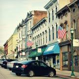 Georgetown do centro histórico, Kentucky Imagem de Stock