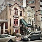 Georgetown en Washington DC Foto de archivo libre de regalías