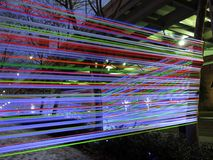 Georgetown Glow Ribbon Exhibit Stock Images