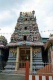 georgetown hinduiskt tempel arkivfoto