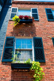 Georgetown historical district facades Washington Royalty Free Stock Images