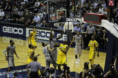 Georgetown Hoyas contre Marquette photos stock