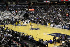 Georgetown Hoyas gegen Marquette Stockbilder