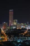 Georgetown, Komtar torn och stadssikt royaltyfria foton