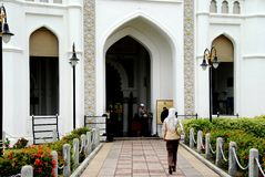Georgetown, Malasia: Mezquita de Kapitane Keling Imagen de archivo libre de regalías