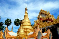 Georgetown, Malaysia: Dhammikarama Burmese Temple Royalty Free Stock Photography