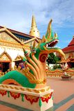 Georgetown, Malaysia: Thai Temple Naga Royalty Free Stock Images