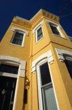 Georgetown niebieskie niebo i dom miejski zdjęcie royalty free