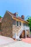 Georgetown Old Stone House in Washington DC Royalty Free Stock Photography