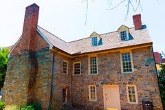 Georgetown Old Stone House in Washington DC. USA Stock Photos
