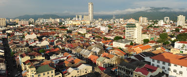 Georgetown, Penang Royalty Free Stock Images