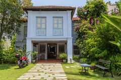 Georgetown, Penang/Malaysia - circa October 2015: Residential house in Georgetown, Penang,  Malaysia Royalty Free Stock Image