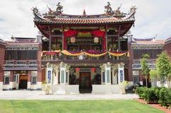Georgetown Penang, Malaysia - December 14, 2015: Fasaden av Cheah Kongsi, Georgetown, Malaysia Royaltyfri Foto