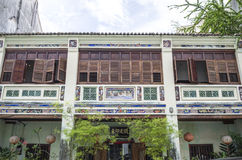 GEORGETOWN PENANG, MALAYSIA - December 13, 2015: Image of beautiful heritage colonial houses in Georgetown, Penang, Malaysia. Stock Photography