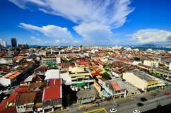 Georgetown Penang Maleisië Stock Foto's