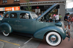 Georgetown Rock and Roll Hot rod Classics Royalty Free Stock Images