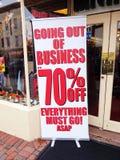 Georgetown sklepu odzieżowego znak Obrazy Stock