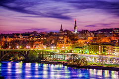 Georgetown Skyline Royalty Free Stock Images
