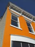 Georgetown-Speicher-Frontseite Stockbilder