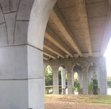 Georgetown, Texas Park Bridge stock photos