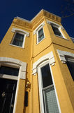 Georgetown Townhouse and Blue Sky Royalty Free Stock Photo