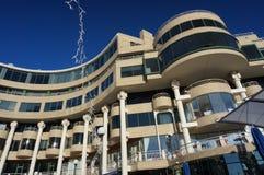 Georgetown-Ufergegend-Architektur Stockfoto