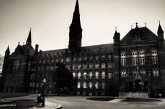Georgetown universitet Fotografering för Bildbyråer