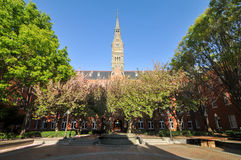 Georgetown universitet - Washington, DC Arkivbilder