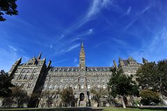 Georgetown University Stock Photo