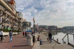 Georgetown Washington DC Potomac Riverfront royalty free stock photo