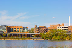 Georgetown waterfront and park Washington DC, USA. Royalty Free Stock Image