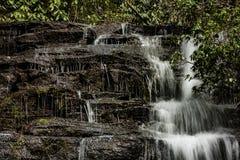 Georgië en het Noorden Carolina Waterfalls stock foto