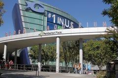 Georgia-Aquarium in Atlanta, GA stockbild
