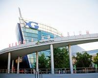 Georgia Aquarium facade in Atlanta Royalty Free Stock Photos