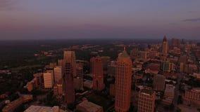 Georgia Atlanta aérea metrajes
