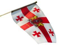 Georgia bandery zdjęcia stock