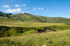 Georgia berg Royaltyfria Foton