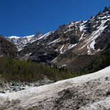Georgia berg i sommartid Fotografering för Bildbyråer