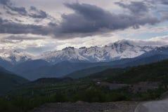 Georgia berg i sommartid Royaltyfri Foto