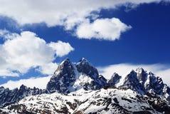 Georgia berg i sommartid Arkivfoto