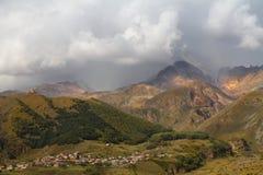 georgia Bergbosättning Arkivbilder
