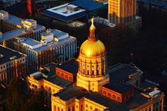 Georgia& x27 ; capital de s Photos stock