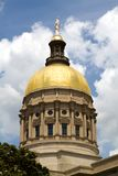 Georgia Capitol Dome Stock Photo
