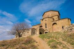 Georgia des Kirchen Jvari-Klosters Stockbild