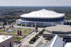 Georgia Dome Royalty Free Stock Photography
