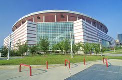 Georgia Dome, one of the largest multi-purpose sports and entertainment complexes in the United States, Atlanta, Georgia royalty free stock photo