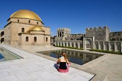 Georgia fästning Rabat i Akhaltsikhe Royaltyfria Foton