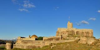 Georgia fästning Rabat i Akhaltsikhe Arkivbilder