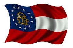 Georgia Flag Royalty Free Stock Photos