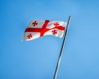 Georgia flag Royalty Free Stock Photo